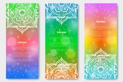 Calibre avec la conception de mandala Photo libre de droits