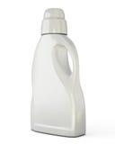 Calibre blanc de bouteille pour le détergent Photos stock