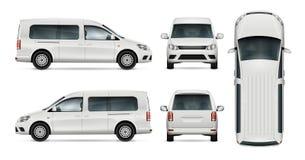 Calibre blanc de vecteur de voiture Photographie stock libre de droits