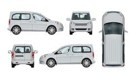 Calibre blanc de voiture de service Photo stock