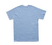Calibre bleu-clair de couleur vide de T-shirt image libre de droits
