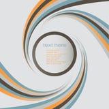 Calibre circulaire de bannière Photographie stock