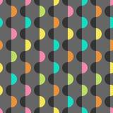 Calibre coloré géométrique de conception de fond illustration de vecteur