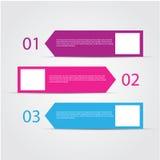 Calibre coloré moderne de conception Photos stock