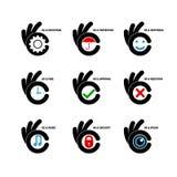 Calibre créatif de vecteur de conception de logo d'abrégé sur icône de lettre de B Lett Images libres de droits