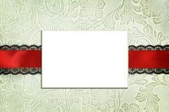 Calibre décoratif avec le cadre de photo Photos stock