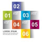 Calibre d'élément de conception moderne illustration stock