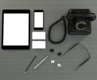 Calibre d'affaires de maquette Photos libres de droits