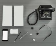 Calibre d'affaires de maquette Photos stock