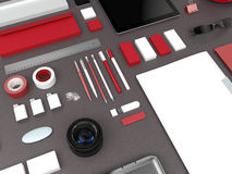 Calibre d'affaires de maquette Images stock