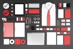 Calibre d'affaires de maquette Image stock
