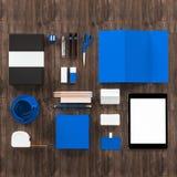 Calibre d'affaires de maquette De haute résolution Images stock