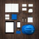 Calibre d'affaires de maquette De haute résolution Photographie stock
