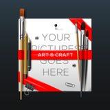 Calibre d'art et de métiers illustration stock