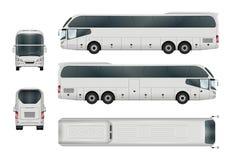 Calibre d'autobus de touristes Image libre de droits