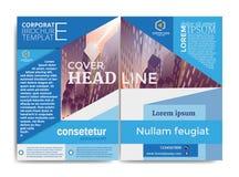 Calibre d'entreprise de brochure illustration stock