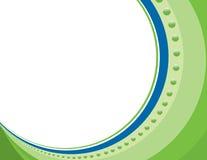 Calibre d'entreprise de présentation de frontière de cercle Images stock