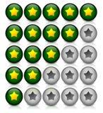 Calibre d'estimation d'étoile Illustration Libre de Droits