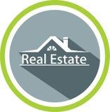 Calibre d'immobiliers et de logo illustration stock