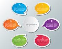 Calibre d'Infographic illustration de vecteur