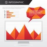 Calibre d'Infographics Image stock