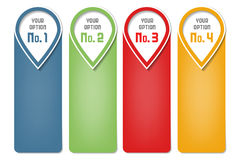 Calibre d'Infographics - cadres pour votre texte Image stock