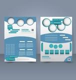 Calibre d'insecte Brochure d'affaires Affiche A4 Editable pour la conception Images stock