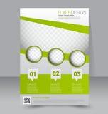 Calibre d'insecte Brochure d'affaires Affiche A4 Editable Photos libres de droits