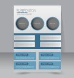 Calibre d'insecte Brochure d'affaires Affiche A4 Editable Photos stock