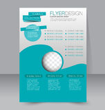 Calibre d'insecte Brochure d'affaires Affiche A4 Editable Photographie stock libre de droits