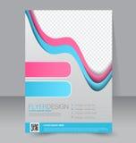Calibre d'insecte Brochure d'affaires Affiche A4 Editable Photographie stock