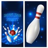 Calibre d'insecte de nuit de bowling Illustration de clipart (images graphiques) de vecteur illustration stock