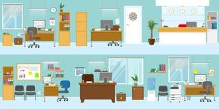 Calibre d'intérieurs de bureau illustration stock