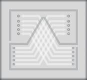 Calibre d'organigramme Photographie stock libre de droits