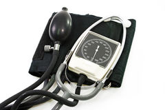 Calibre da pressão sanguínea Fotografia de Stock
