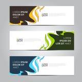 Calibre de bannière de conception d'abrégé sur vecteur Photo stock
