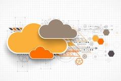 Calibre de bannière de nuage de Web illustration libre de droits