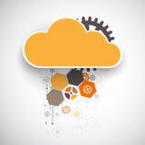 Calibre de bannière de nuage de Web illustration stock