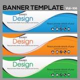 Calibre de bannière pour le designe d'affaires photos libres de droits