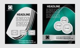 calibre de brochure Photographie stock