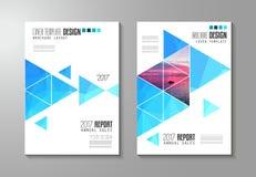 Calibre de brochure, conception d'insecte ou couverture de Depliant pour des affaires illustration stock