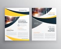 Calibre de brochure d'affaires avec l'espace pour votre texte illustration libre de droits