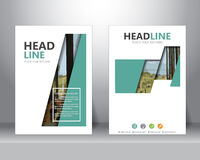 Calibre de brochure d'affaires, vecteur illustration de vecteur