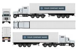Calibre de camion de cargaison Photographie stock