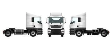 Calibre de camion sur le blanc Images stock