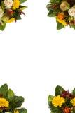 Calibre de carte de voeux avec le bouquet Image stock
