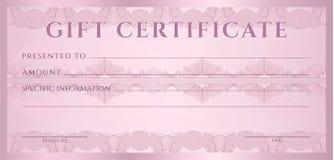 Calibre de chèque-cadeaux (bon, bon)