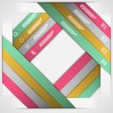 Calibre de choix de bandes de papier Photos stock