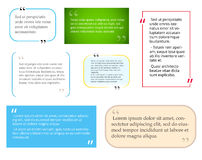 Calibre de citation illustration libre de droits