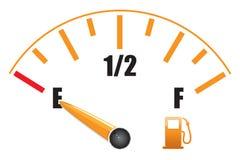 Calibre de combustível Foto de Stock Royalty Free